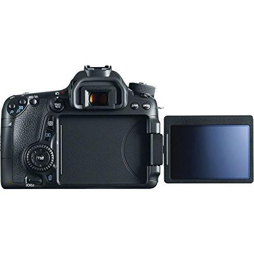 "Canon with EF-S 18-55mm f/3.5-5.6 is STM 32GB 1200x Card, 50"" Digital Bag, Lens Dust Blower, AOM International Version"