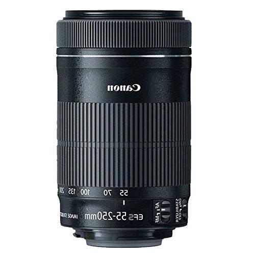 Canon Camera + EF-S EF-S Telephoto 500mm + Wide 58mm + Accessory