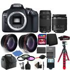 Canon EOS Rebel 1300D/T6 Digital SLR Camera with 4 Lens Comp