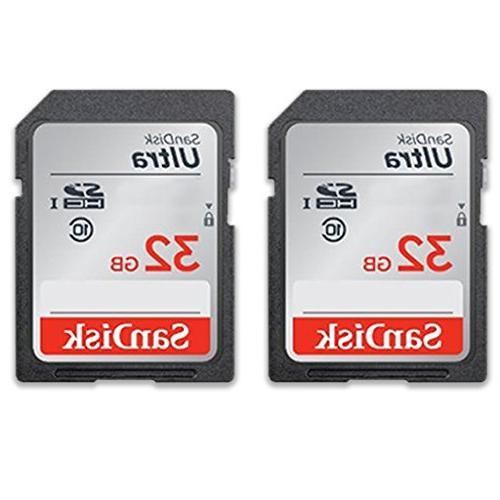 Canon Rebel DSLR Bundle Canon IS II 2pc SanDisk 32GB Memory Cards Accessory