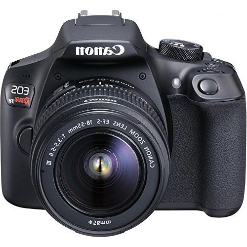 Canon EOS 18-55mm f/3.5-5.6 IS and III and 64GB Memory Triple Accessory