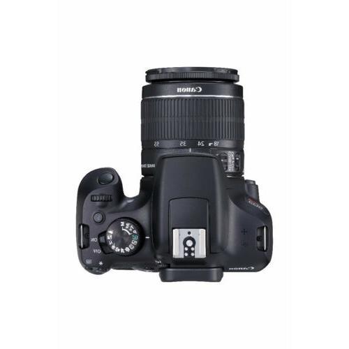 Canon DSLR Camera EF-S 18-55mm EF-S 55-250mm Lens