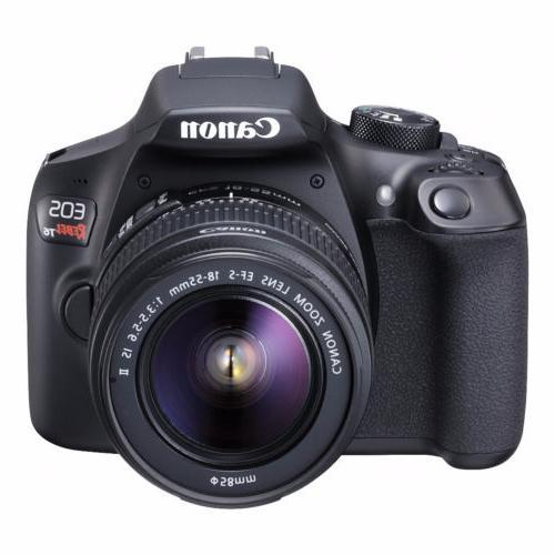 Canon EOS DSLR 18-55mm & EF-S Lens Bundle