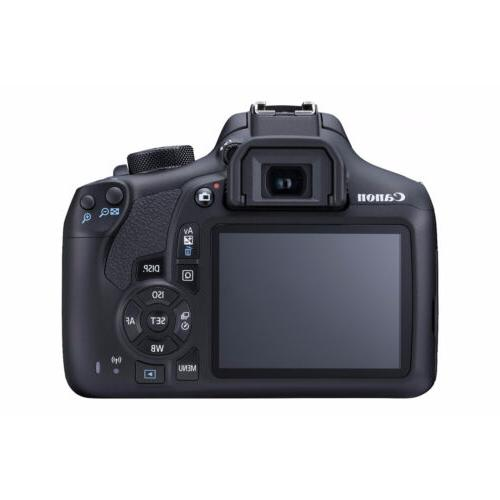 Canon T6 DSLR Camera 18-55mm & EF-S 55-250mm Lens