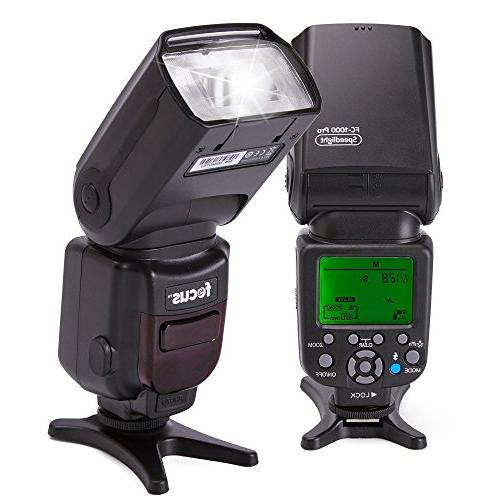 Focus Professional Flash Kit with 2pcs & Wireless Slave Function Light Stand