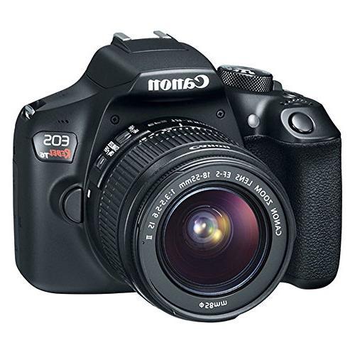 Canon EOS T6 Digital 18 55mm EF S f II Angle Lens