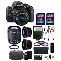 Canon EOS Rebel T6i 24.2MP CMOS Digital SLR Camera with EF S
