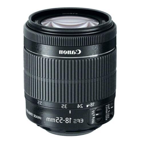Canon EOS T7i DSLR Camera + STM + 24GB