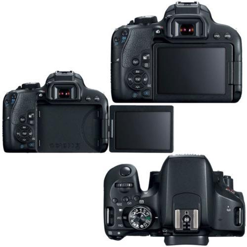 Canon EOS Rebel DSLR Camera + STM + 75-300mm + Kit