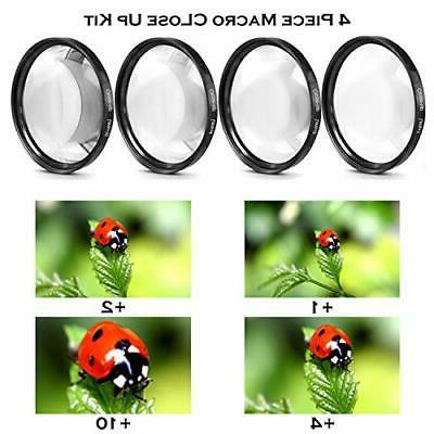 Canon EOS Rebel DSLR Camera Lenses + and