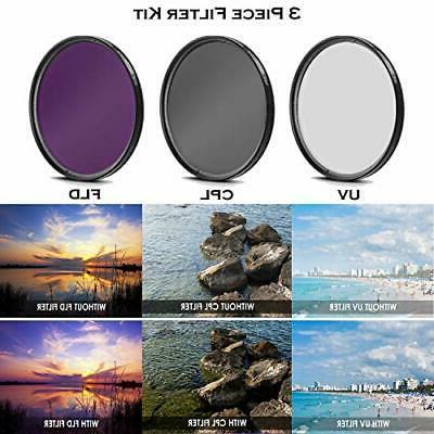 Canon EOS T7i DSLR Bundle with Lenses TTL and Bundle