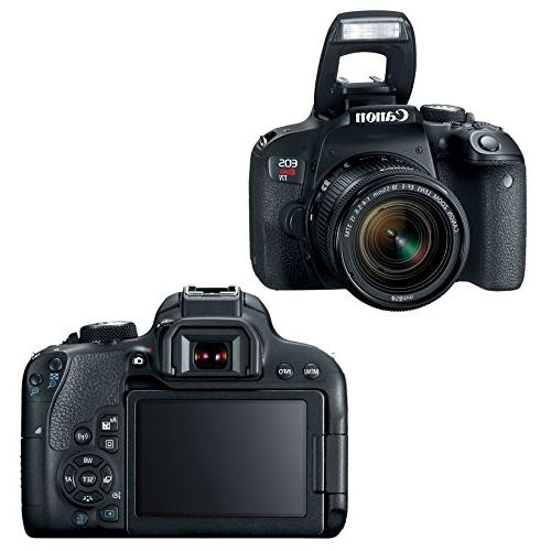 Canon w/ 18-55mm + 55-250mm lenses, 64GB Memory Card Swivel TTL + 58mm Angle & 58mm filter + Loads