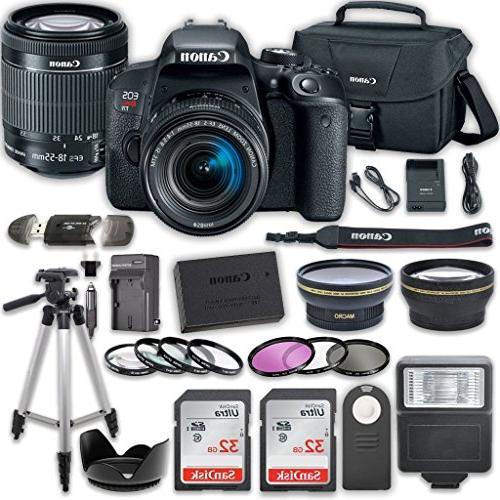 Canon EOS Camera STM x 32GB Card Accessory