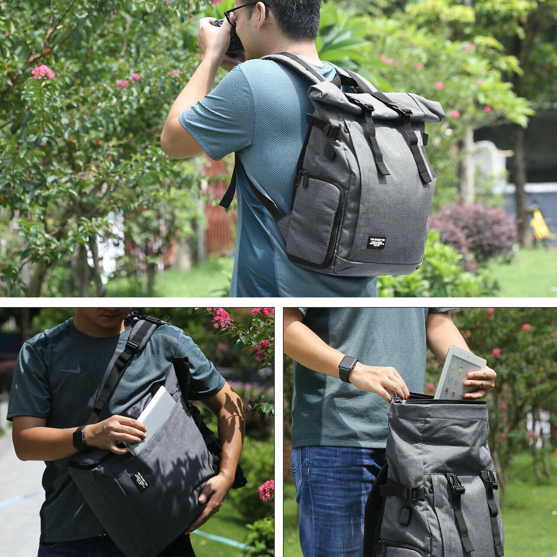For Canon SLR Camera Case Shoulder Backpack
