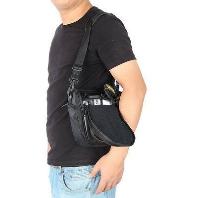 For Nikon-Sony DSLR Shockproof Shoulder Bag
