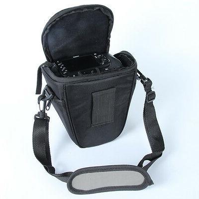 For Nikon-Sony DSLR Camera Case Shoulder Bag