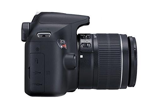 Canon T6 DSLR Camera 18-55mm Lens Premium Accessory Bundle