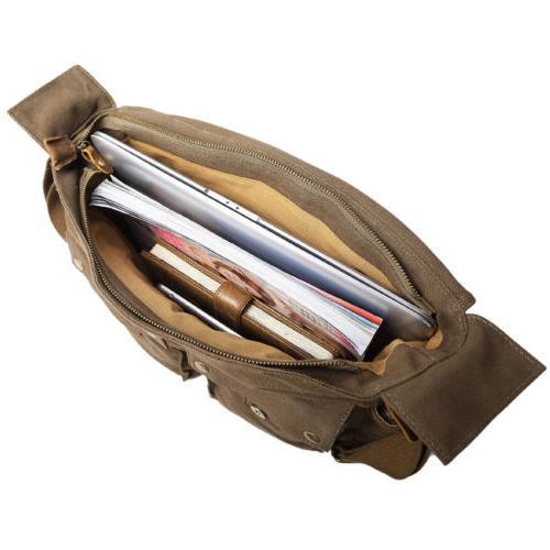 Kattee Canvas DSLR Shoulder Messenger Bag