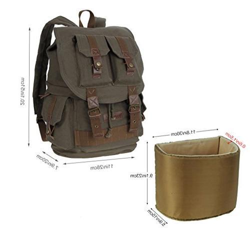 Koolertron DSLR SLR Camera Shoulder Bag Rucksack Waterproof Cover Canon Nikon Olympus