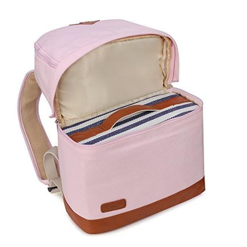 Kattee Professional Canvas DSLR Backpack Bag Waterproof Rain Cover for Nikon