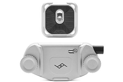 capture camera clip v3 silver with plate