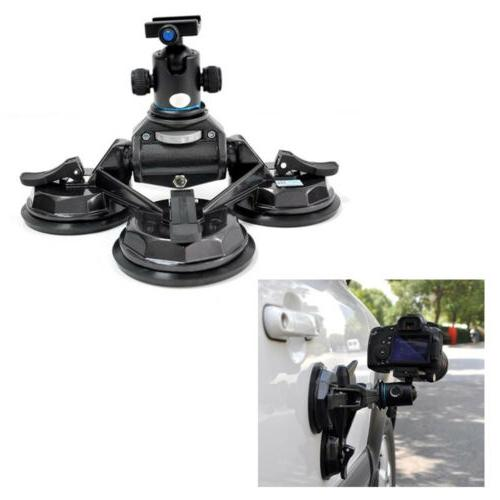 car dv dslr camera comcorder stabilizer suction