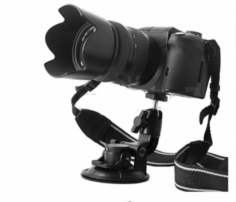 2pcs In Car Window Cup Suction Mount Tripod Holder For DSLR