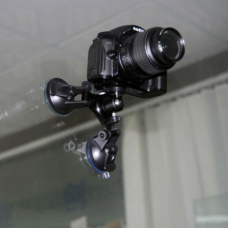 Car Windshield Mount DSLR SLR Heavy Duty GoPro