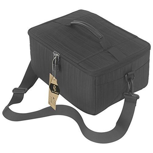 Koolertron Case DSLR Camera Universal Liner Partition Waterproof Sleeve for