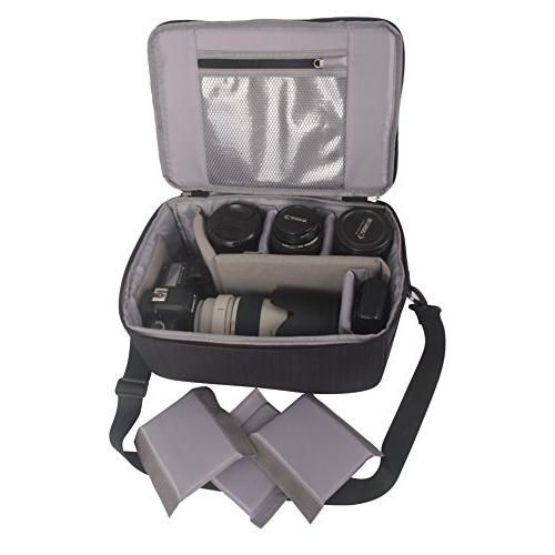 Koolertron Case Camera Partition Sleeve for Cannon/Nikon/Sony