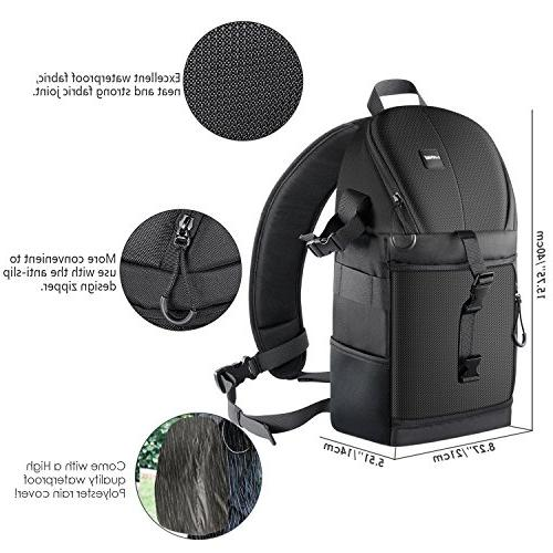 Neewer Sling Nikon Canon Sony and DSLR and Accessories,Durable and Proof Dividers