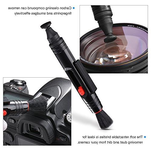 Tycka Professional Camera Kit 30ml non-toxic cleaning improved uni-body blower, cleaning swabs, DSLR, and Sensors