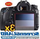 3x Clear LCD Screen Protector Guard Film DSLR Camera Canon R