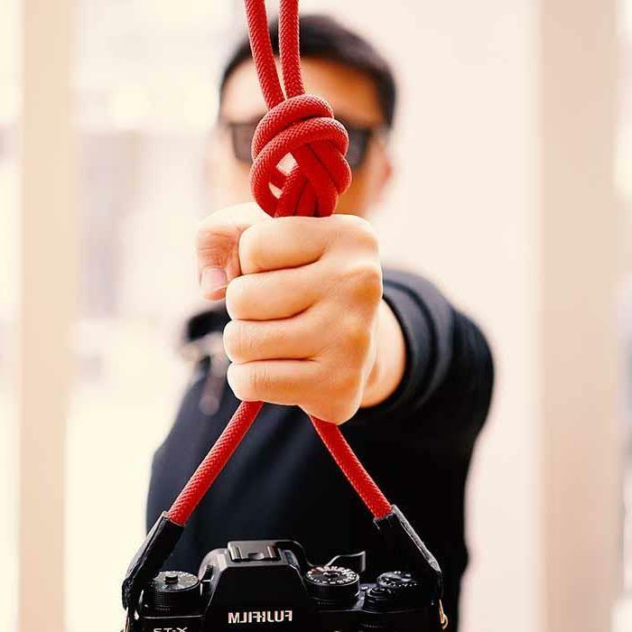 Climbing Braided Camera Shoulder Strap -