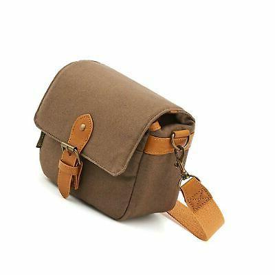 compact slr shoulder bag canvas