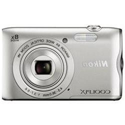 Nikon Coolpix A300 Silver 20.1 Megapixel Digital Camera