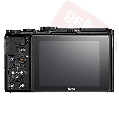 Nikon A900 Megapixel Camera Black - 3 LCD - Optical - 4x - - - 5184 Image - 3840 2160 - HD Movie - Wireless