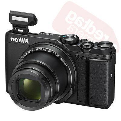 Nikon A900 20 Megapixel Compact Camera Black - 3 LCD - 16:9 - 35x Optical - Optical - TTL - Image x 2160 Video HDMI - HD Movie -