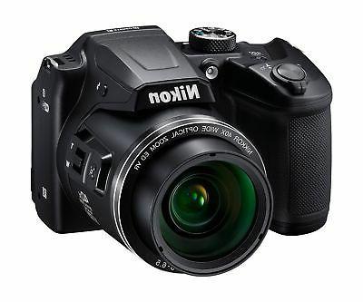Nikon COOLPIX Digital Camera w/ USB Accessory Bundle Black
