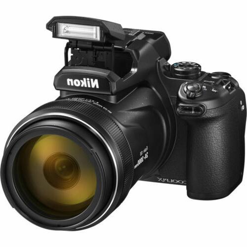 Nikon P1000 Camera + DSLR Spider Tripod - Kit