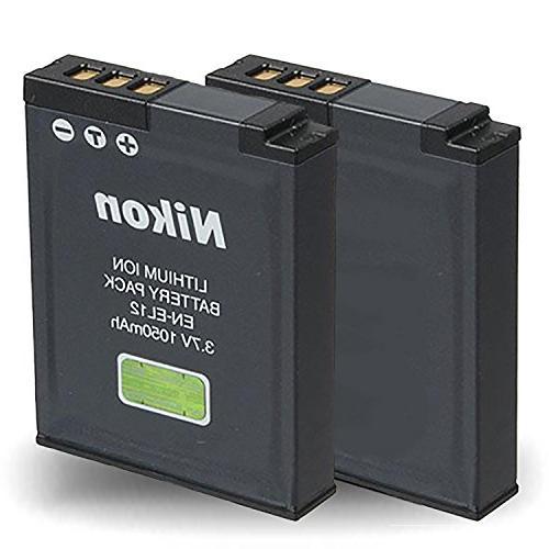 Nikon COOLPIX Camera Built-In GPS + 32GB Memory Card for Nikon Card Reader Tripod