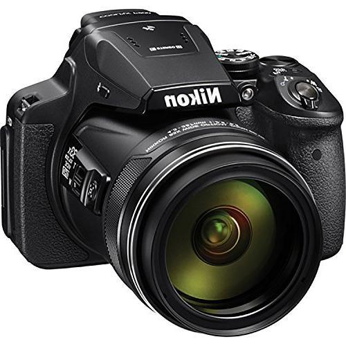 Nikon Camera Built-In Wi-Fi, NFC, GPS 32GB Memory Card Replacement for Nikon Card Tripod