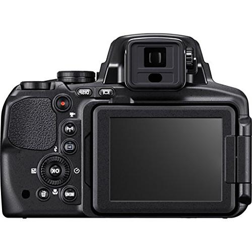 Nikon Camera 83x Built-In Wi-Fi, NFC, and GPS Card Battery for Card + Tripod International