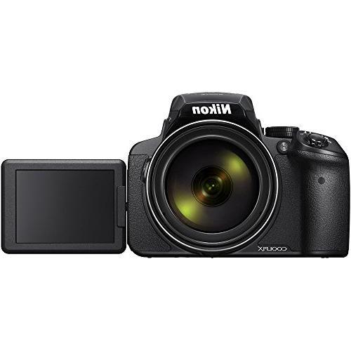 Nikon COOLPIX 16MP Zoom Digital Camera with 83x Optical Wi-Fi