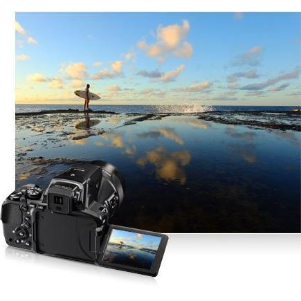 Nikon COOLPIX Zoom Camera 83x Optical Wi-Fi and NFC