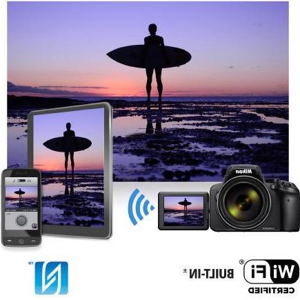 Nikon Zoom 83x Zoom, Wi-Fi and