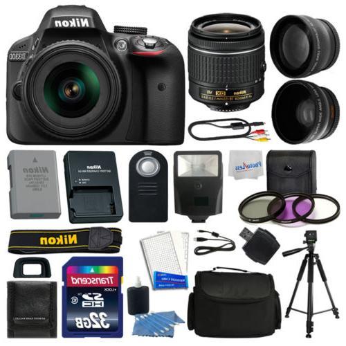 Nikon Digital Camera Kit 18-55mm Lens + 32GB