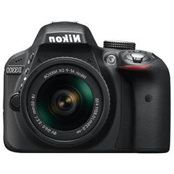 Nikon D3300 24.2 Megapixel Digital SLR Camera with Lens - 18