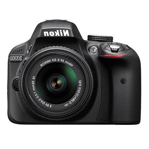 Nikon Camera Black NIKKOR 18-55mm f/3.5-5.6G Lens