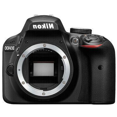 Nikon D3400 DSLR Top +More